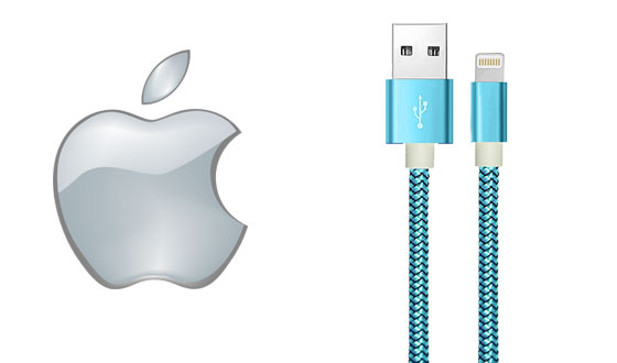 Cables USB de Apple cordón