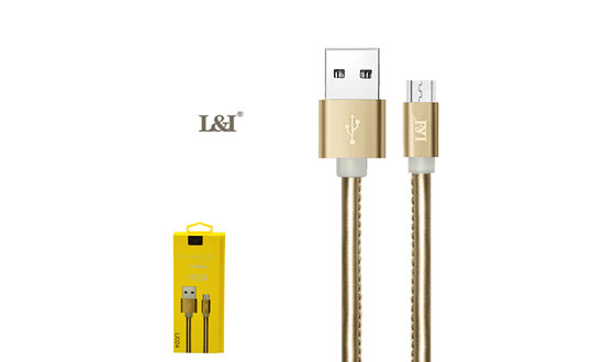 Cables USB to MICRO cuero