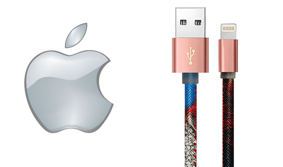 Cables USB de Apple cuero premium